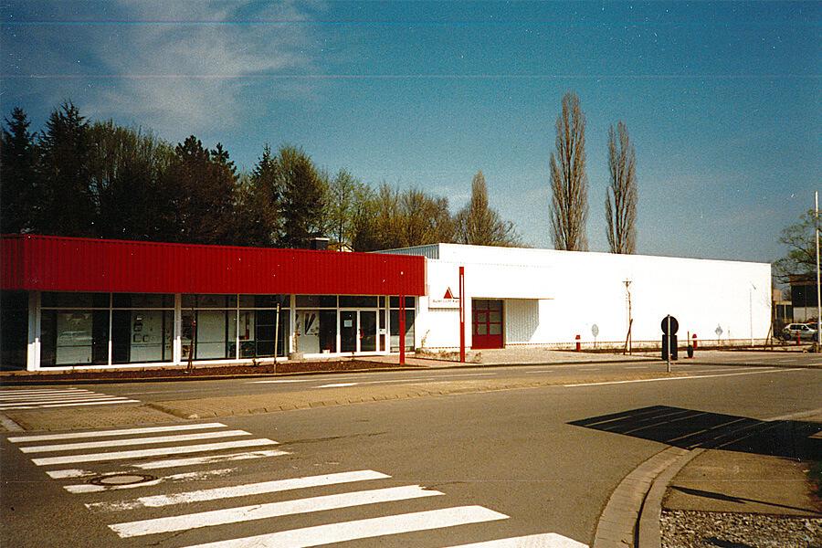 Neues Auler-Firmengebäude in der Kirchwies, Saarbrücken
